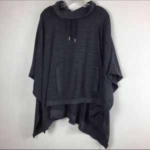 Athleta Blissful Poncho Yoga Workout Sweater